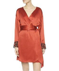 La Perla   Maison Silk Satin Short Robe
