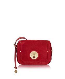 See by Chloé   Lois Velvet Suede Crossbody Bag