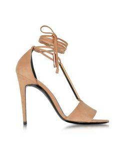 Pierre Hardy | Blondie Suede Hig Heel Sandals
