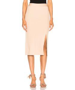Ryan Roche | Bottom Slit Fitted Skirt