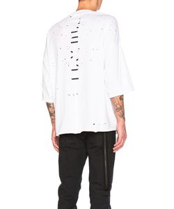 Unravel | Distress Jersey Tee