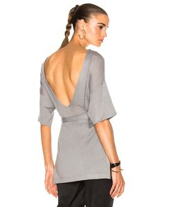 Soyer | Low Back Tunic Top