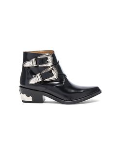 Toga Pulla | Polished Leather Booties