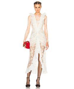 Alessandra Rich | Chantilly Lace Nymph Dress