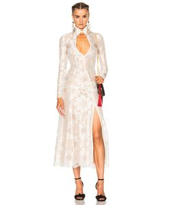 Alessandra Rich | Fwrd Exclusive Lamant Chantilly Embellished Lace Dress