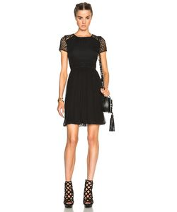 Burberry Prorsum | Paneled Lace Dress