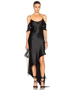Juan Carlos Obando | Ruffle Spiral Dress