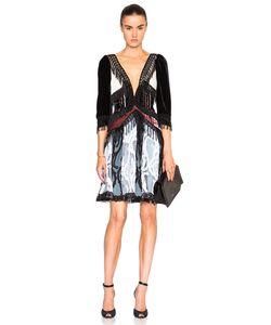 Rodarte | Paisley Silk Velvet Dress