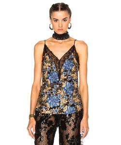 Rodarte | Embroidered Floral Lace Camisole
