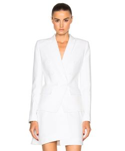 Alexandre Vauthier | Crepe Double Breasted Blazer