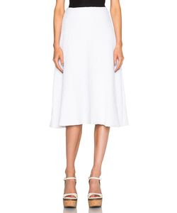 Sally Lapointe | Stretch Boucle Flare Skirt