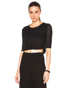 Soyer | Cashmere Crop Top