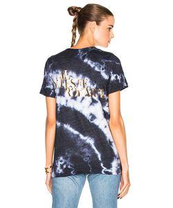 Rodarte | Love Hate Foil Crystal Tie Dye T-Shirt
