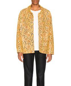 Martine Rose | Oversized Leather Jacket