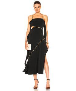 Jonathan Simkhai | For Fwrd Pearl Studded Strapless Dress