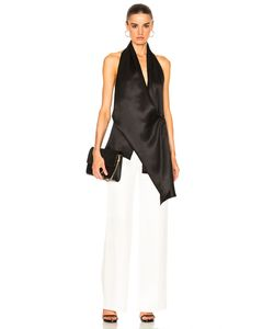 Victoria Beckham | Silk Twill Draped Top