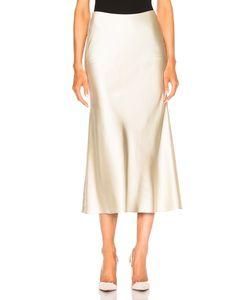 Calvin Klein Collection   Kristina Silk Satin Skirt