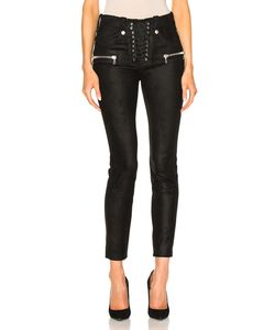 Unravel | Suede Lace Up Skinny