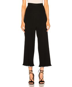 Rosetta Getty | Viscose Ribbed Cropped Pants
