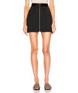 Alexander Wang | High-Waisted Mini Skirt