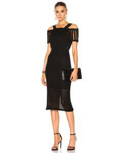 Roland Mouret | Sinclair Linen Mesh Dress