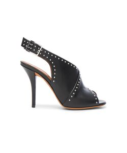 Givenchy | Studded Leather Open Toe Heels