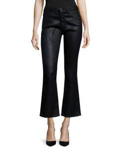 AG Adriano Goldschmied   Jodi Crop Leatherette Jeans