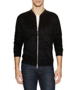 Blk Dnm | Front Zip Up Sweatshirt