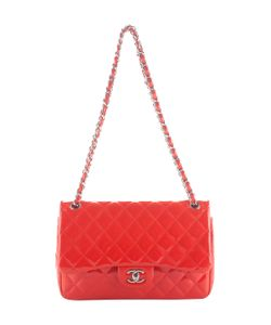 Chanel | Vintage Quilted Patent Classic Flap Jumbo
