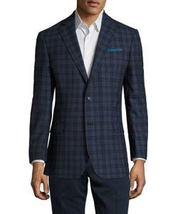 Brooks Brothers | Wool Plaid Notch Lapel Sportcoat