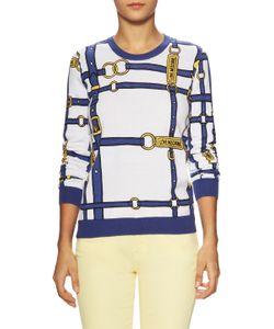 Love Moschino   Belt Printed Sweater