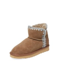 Mou | Norfolk Short Sheepskin Bootie