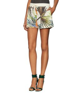 Valentine Gauthier   Rocky Printed Perforated Short