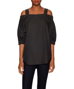 Timo Weiland | Cotton Cut Out Shoulder Tunic