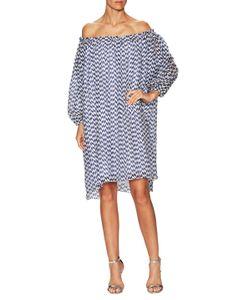 Tanya Taylor | Broken Twill Asymmetrical Shift Dress