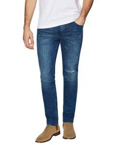 Blk Dnm | Distressed Slim Fit Jeans