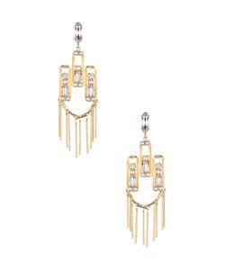 Dannijo | Camilla Crystal Pearl Drop Earrings