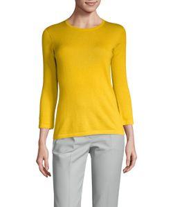 Oscar de la Renta | Cashmere 3/4 Sleeve Sweater