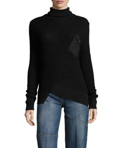 Marc by Marc Jacobs | Asymmetrical Turtleneck Sweater