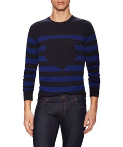 Z Zegna | Striped Crewneck Sweater