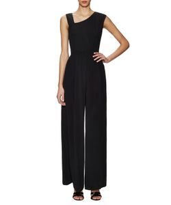 French Connection | Emma Crepe Asymmetrical All In One Jumpsuit
