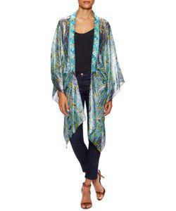 Anna Sui | Gone Fishing Silk Print Kimono