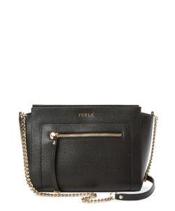 Furla | Ginevra Small Leather Zip Crossbody