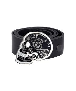 King Baby | Day Of The Dead Skull Buckle