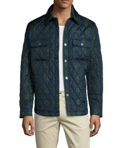Brooks Brothers | Checke Quilted Field Jacket