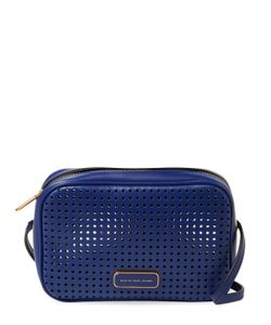 Marc by Marc Jacobs   Sally Perforated Leather Crossbody