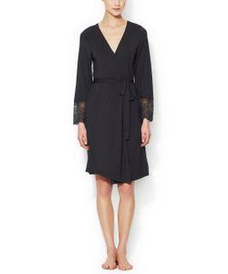 Blush Lingerie | Modal Lace Robe