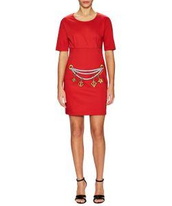 Love Moschino   Embroide Sheath Dress