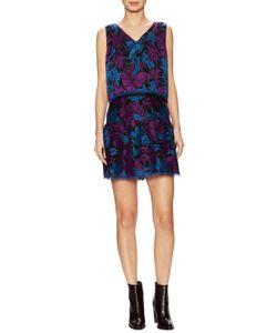 Anna Sui | Embroide Overlay Top Mini Dress