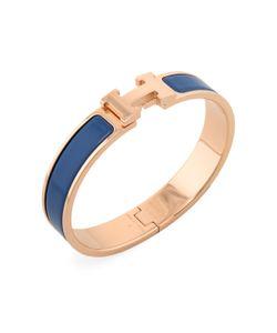 Hermès | Vintage H Clic Clac Narrow Bangle Bracelet
